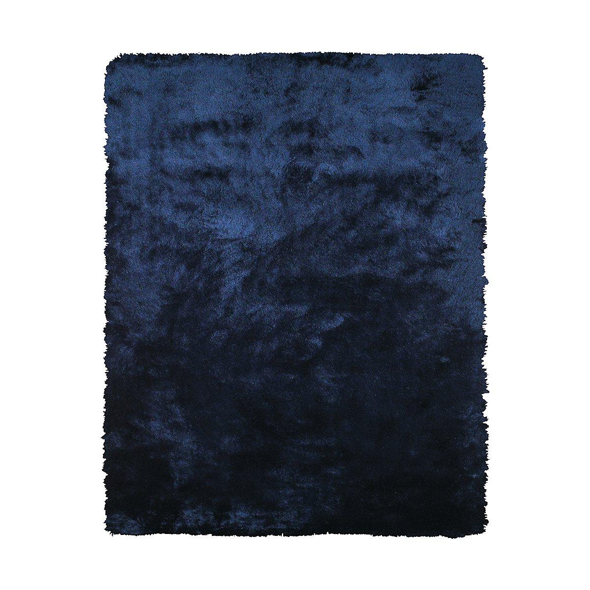 Indochine Dark Blue 5X8 Area Rug