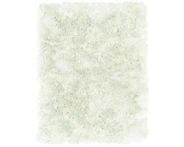 Indochine White 5X8 Area Rug