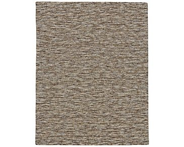 Cora Brown 8X11 Area Rug