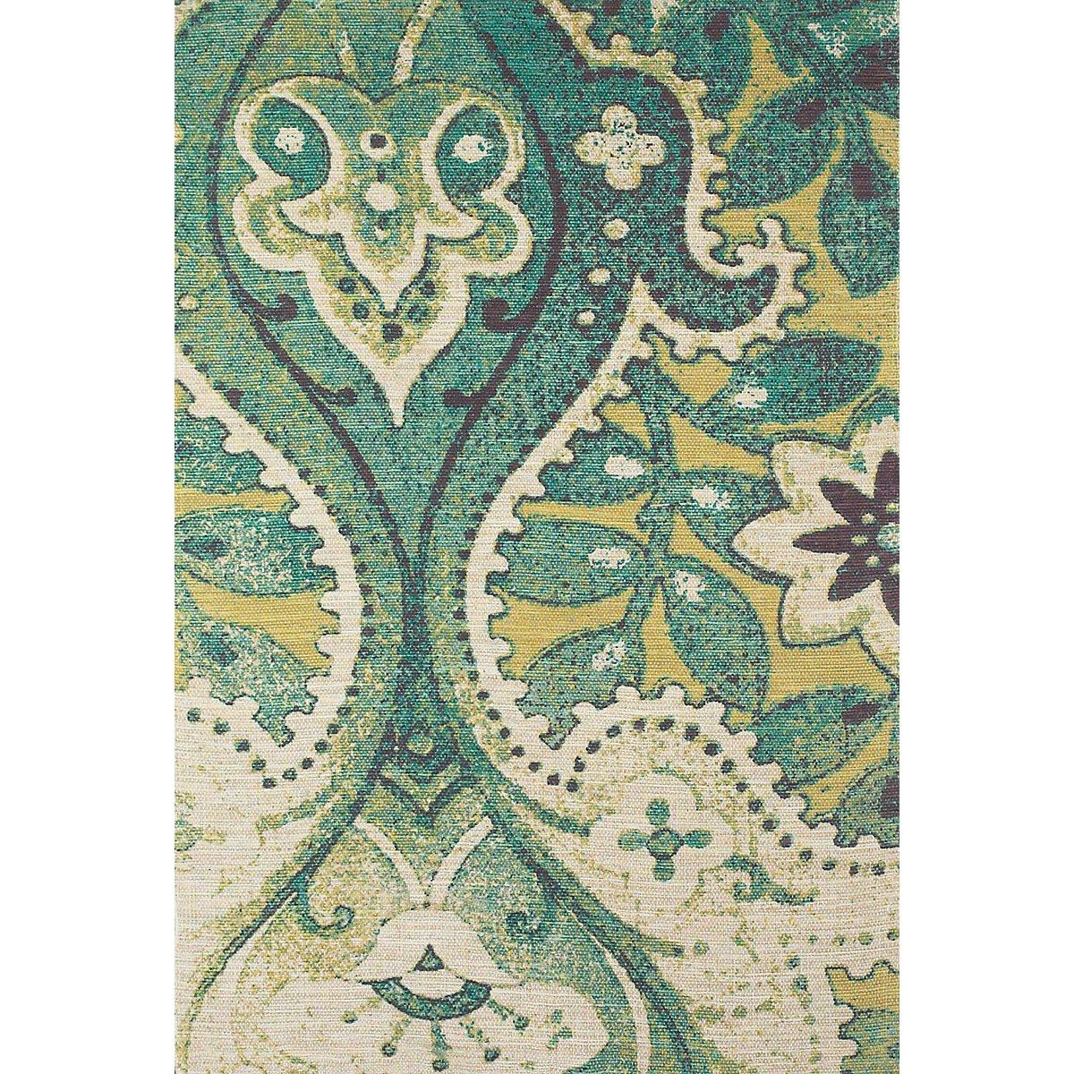 teal area rug 5x8