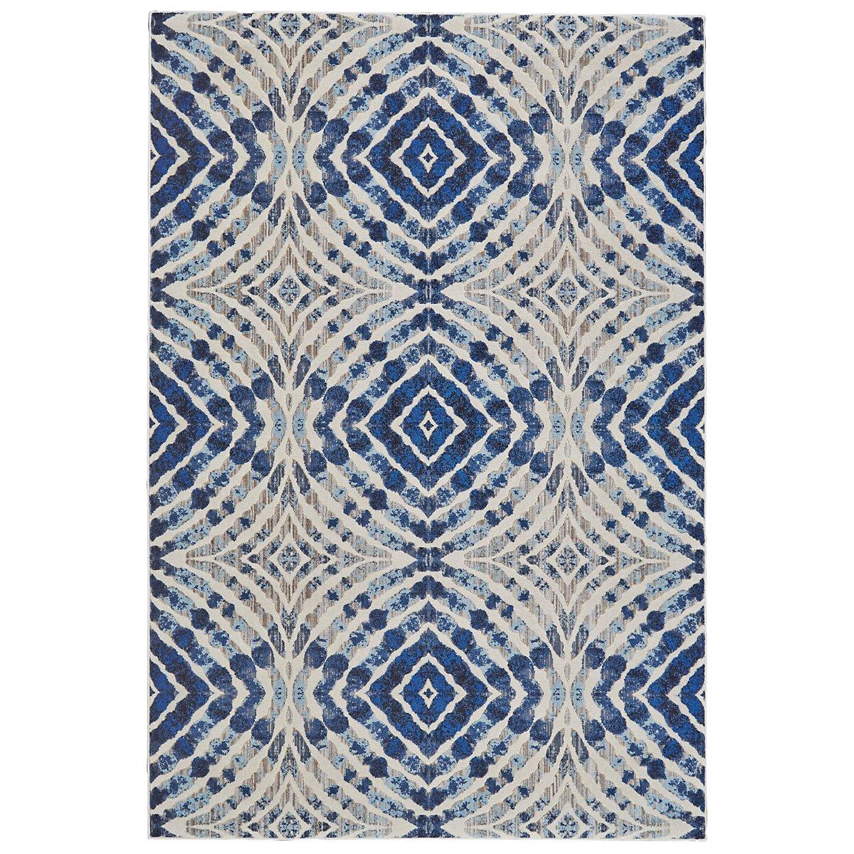 keaton dark blue 5x8 area rug. Black Bedroom Furniture Sets. Home Design Ideas