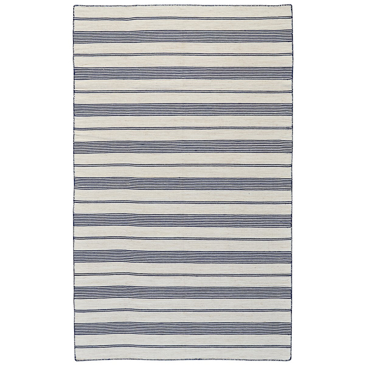 Duprine Dark Blue Indoor/Outdoor 8x11 Area Rug