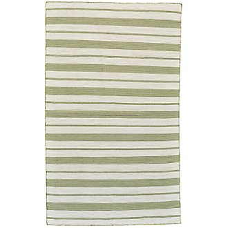 Duprine Green Indoor/Outdoor 5x8 Area Rug