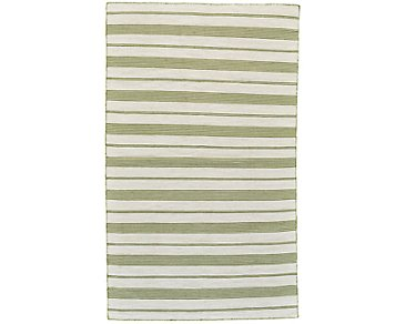 Duprine Green Indoor/Outdoor 8x11 Area Rug