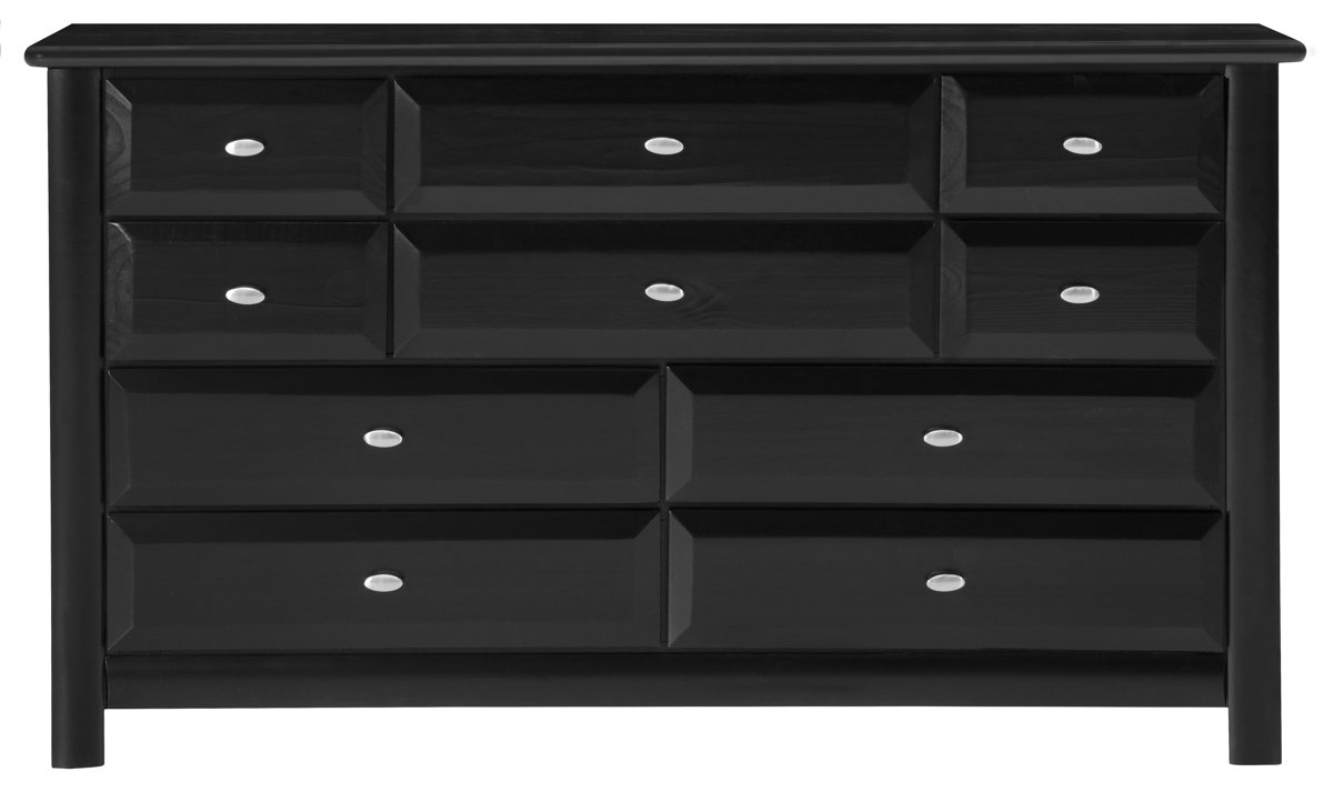 Laguna Black Wood Dresser