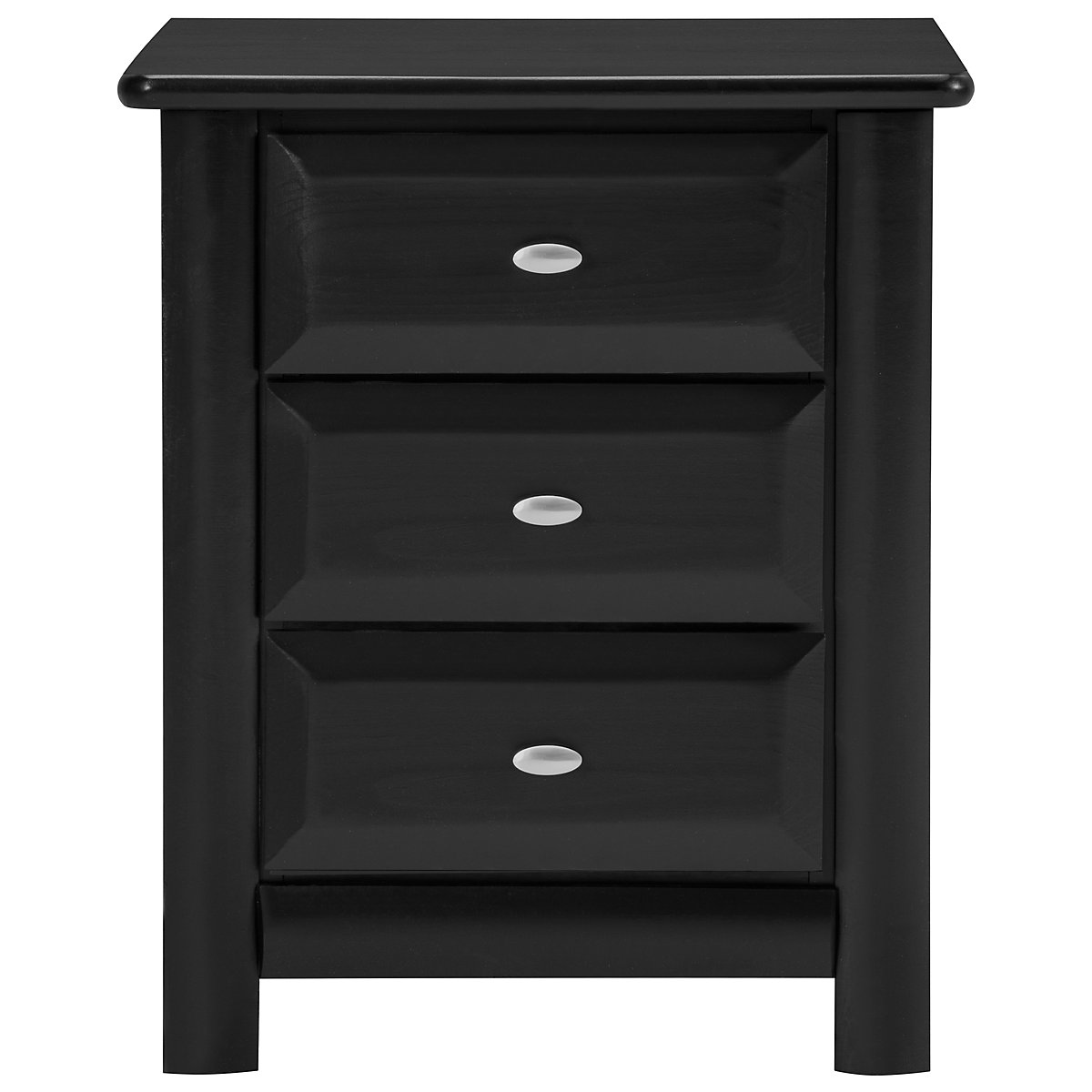 Laguna Black Nightstand