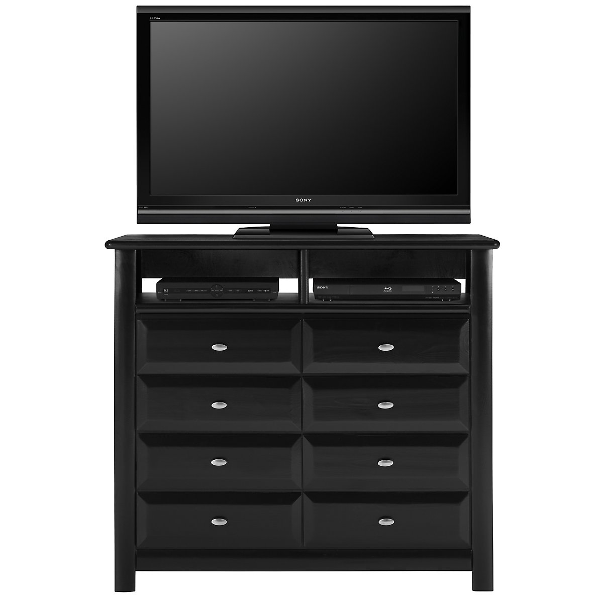 Laguna Black Media Chest