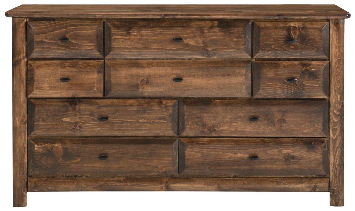 Laguna Dark Tone Wood Dresser