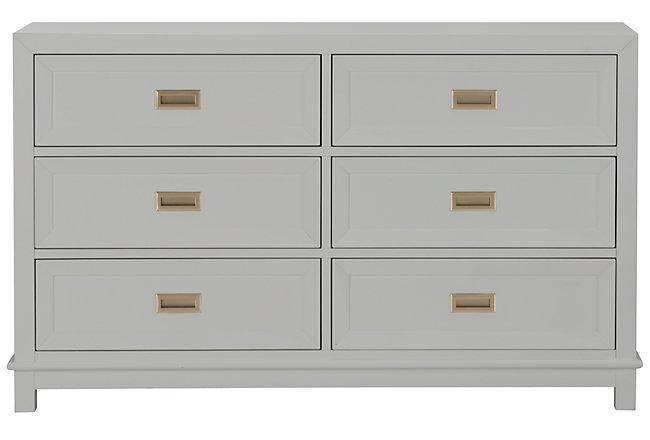 Ryder Gray Wood Dresser