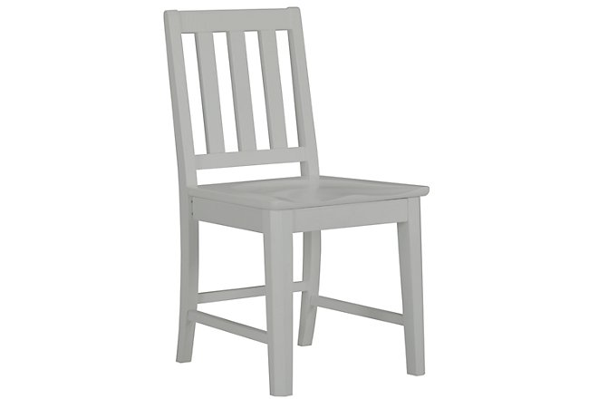 Ryder Gray Wood Chair