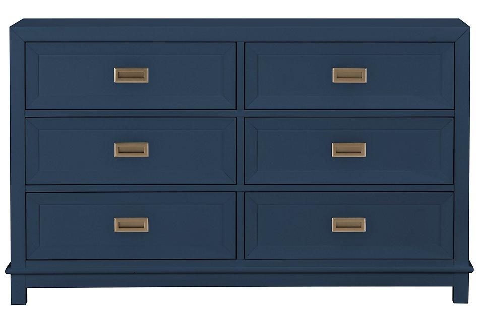 Ryder Dark Blue   Dresser