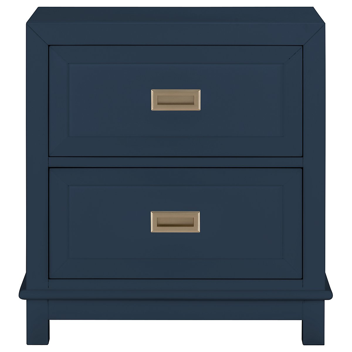 Ryder Dark Blue 2-Drawer Nightstand