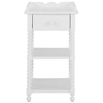 Livie White Nightstand