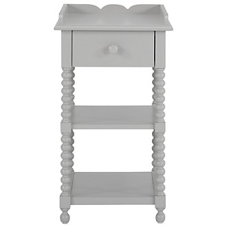 Livie Gray Nightstand