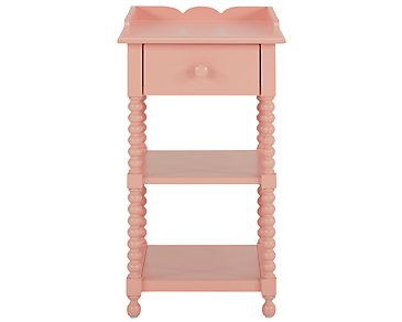 Livie Coral Nightstand