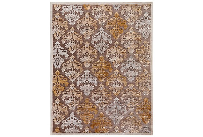 Majestic Gold 5X8 Area Rug