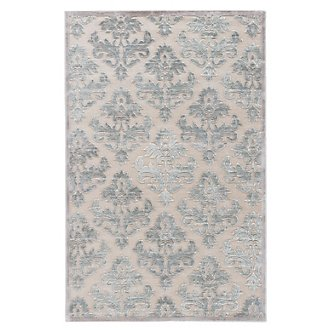 Majestic Light Blue 5X8 Area Rug
