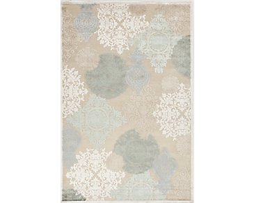 Wistful Multicolored 5X8 Area Rug