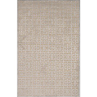 Greek Light Beige 5X8 Area Rug
