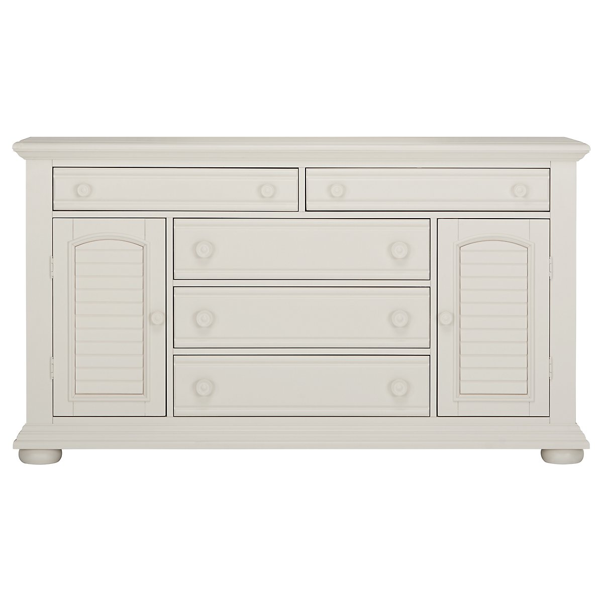 Quinn White Dresser