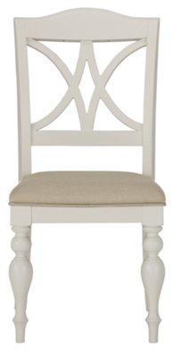 Quinn White Round Table U0026 4 Wood Chairs