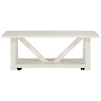 Quinn White Coffee Table