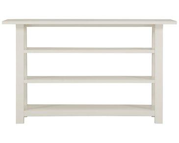 Quinn White Sofa Table