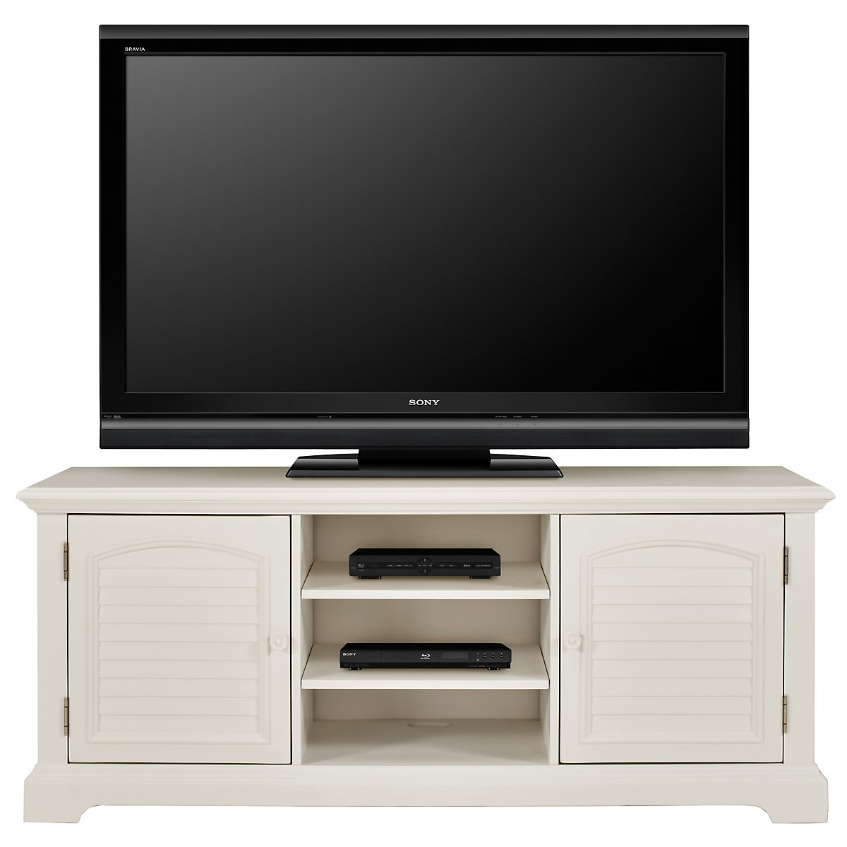 "Quinn White 68"" TV Stand"