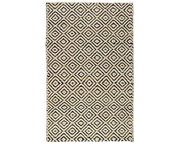 Artemis Black 5X8 Area Rug