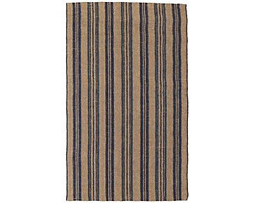 Seagrass Dark Blue 5X8 Area Rug