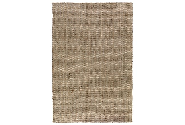 Panama Light Brown Jute 5x8 Area Rug