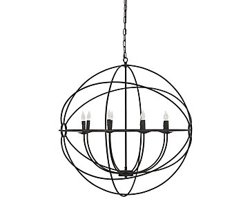 Derince Dark Brown Chandelier