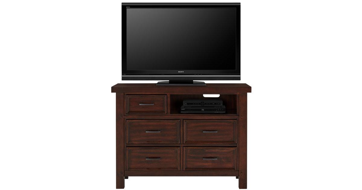 City Furniture Napa Dark Tone Media Chest