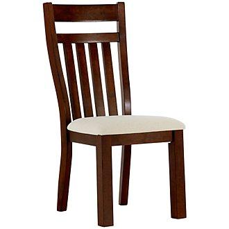 Napa Dark Tone Wood Side Chair