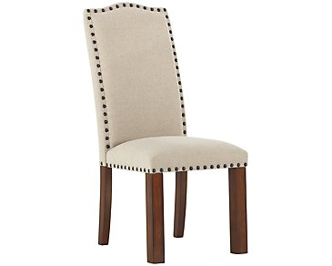 Napa Dark Tone Upholstered Side Chair