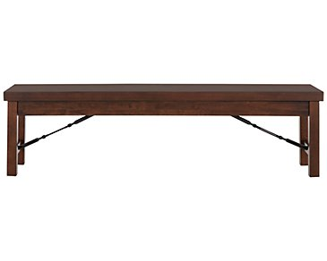 Napa Dark Tone Storage Dining Bench