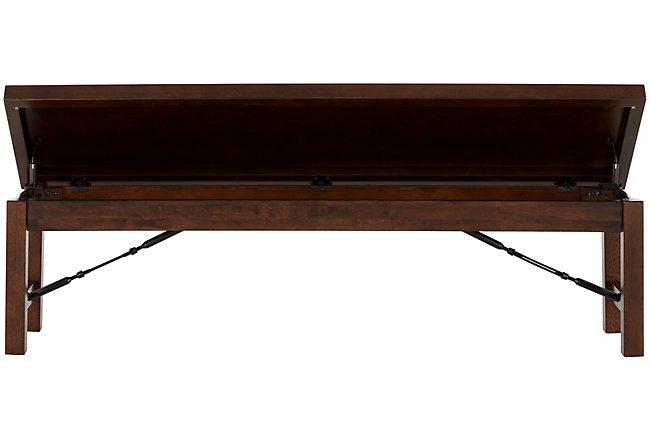 Napa Dark Tone Wood Dining Bench