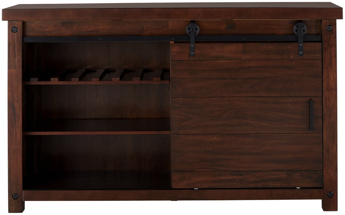 Napa Dark Tone Wood Server