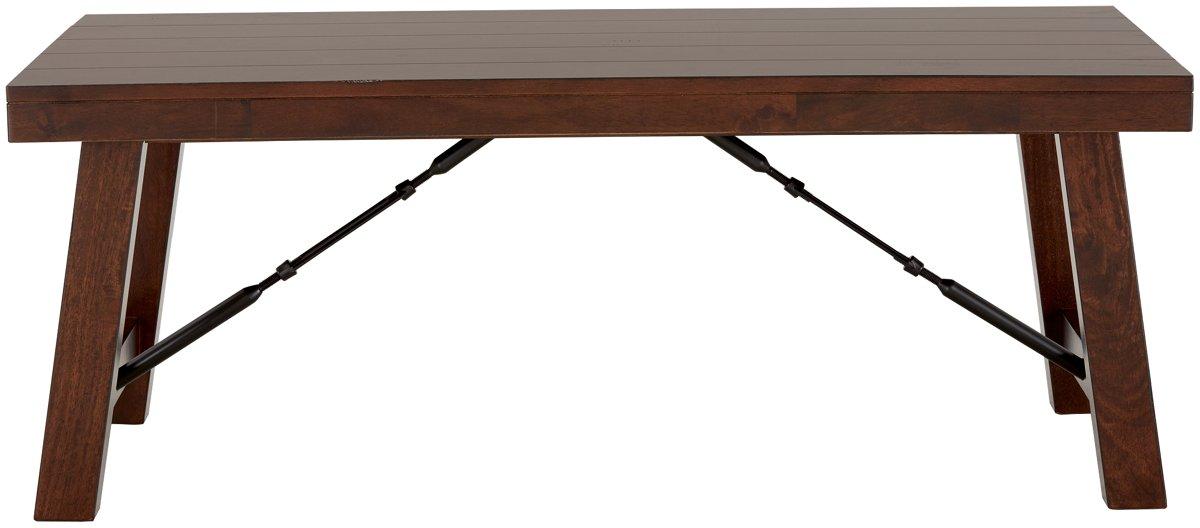 Napa Dark Tone Wood Rectangular Coffee Table