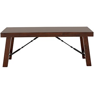 Napa Dark Tone Rectangular Coffee Table