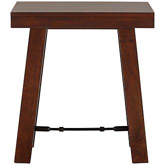 Napa Dark Tone Square End Table