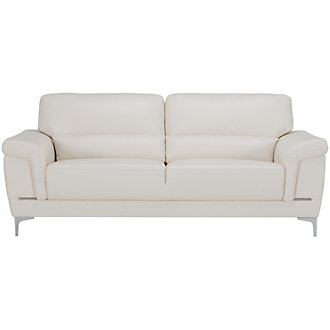 Enzo Light Taupe Microfiber Sofa