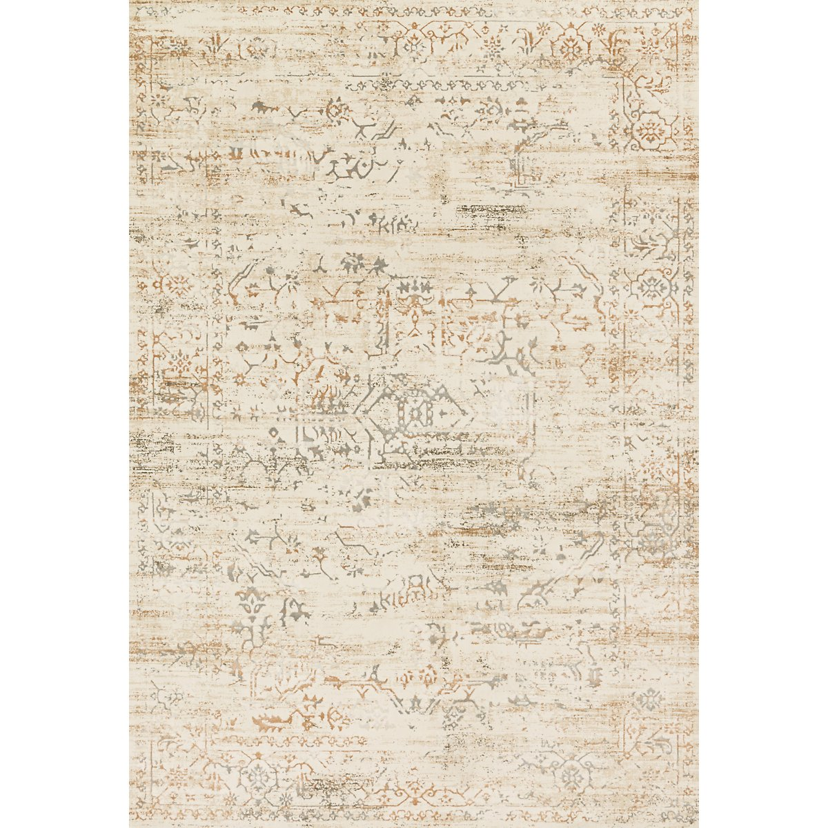 Kingston Light Beige 5x8 Area Rug