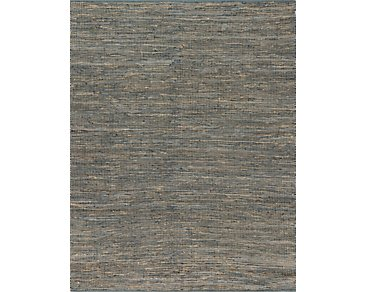 Edge Gray 8X10 Area Rug