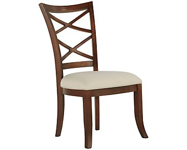 Antigua Mid Tone Wood Side Chair