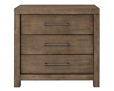 Mirabelle Light Tone 3-Drawer Nightstand