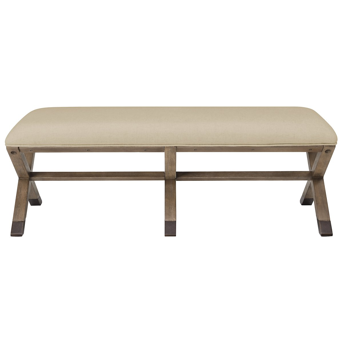 Mirabelle Light Tone Bench