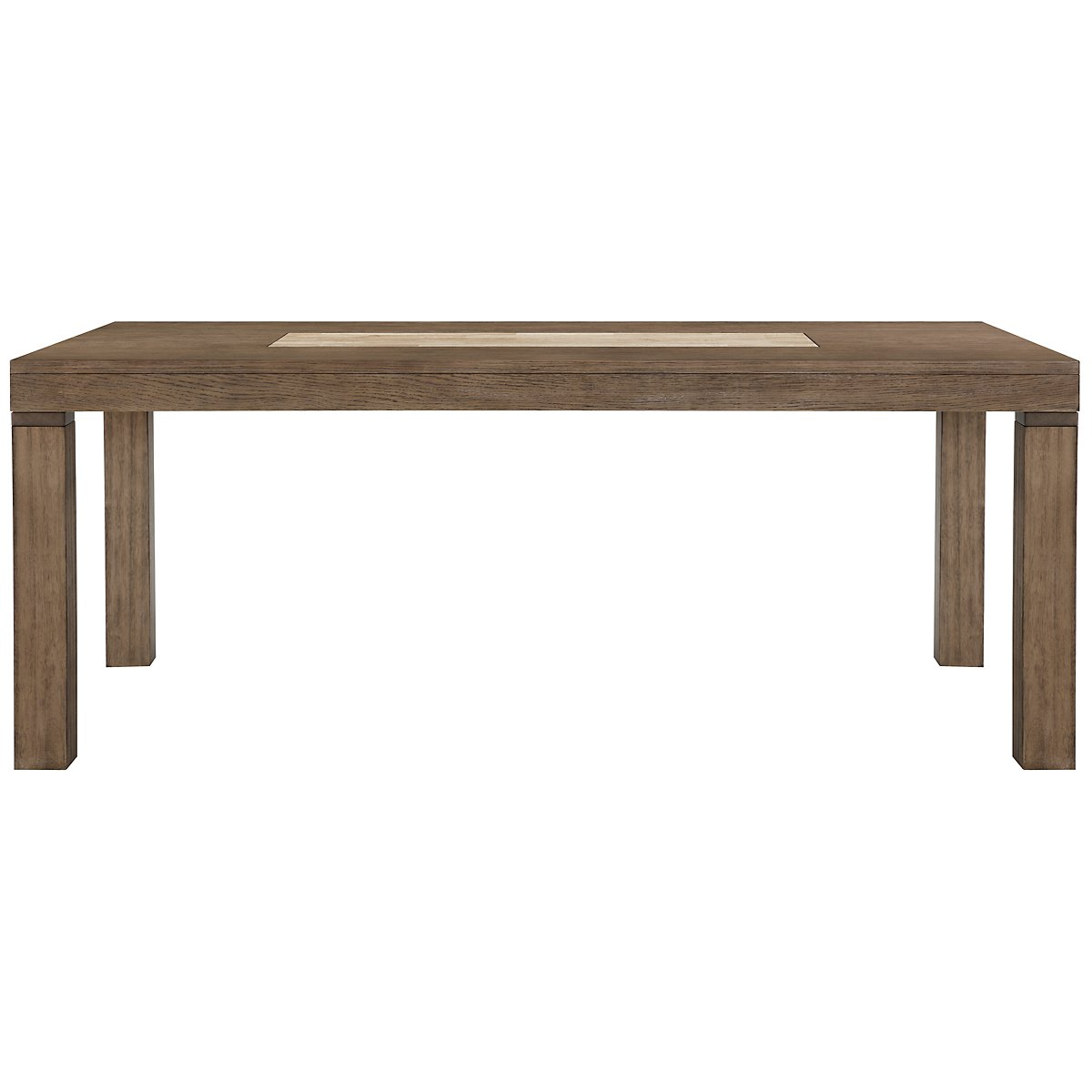 Mirabelle Light Tone Rectangular Table