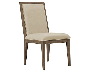 Mirabelle Light Tone Upholstered Side Chair