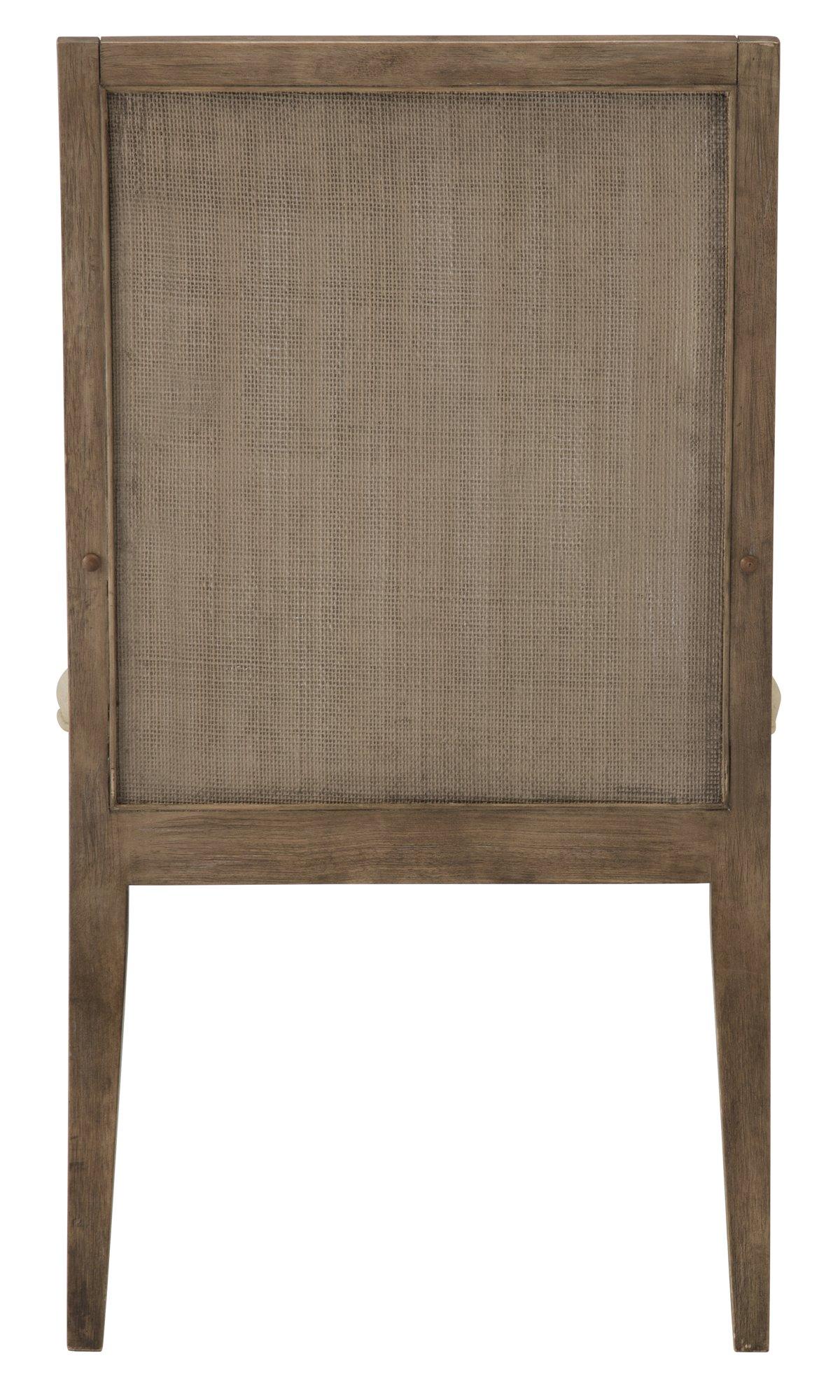 Mirabelle Light Tone Upholstered Upholstered Arm Chair